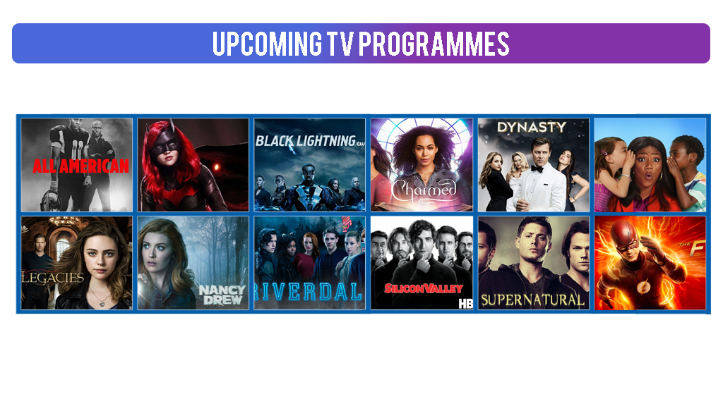 Upcoming Tv Programs