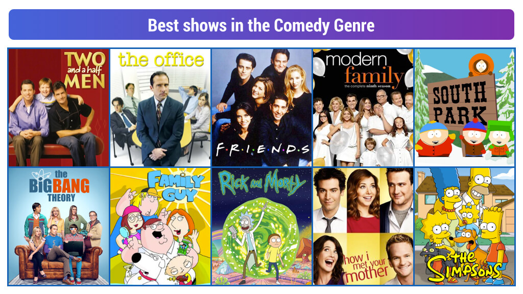 Top 10 Comedy Genres TV Shows